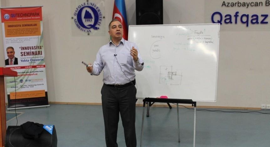 YFM iştirakçılarına İNNOVASİYA seminarı verildi