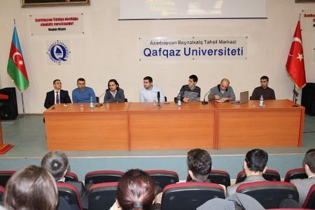 """""""Startup Turkey 2014""""-ün iştirakçıları ilə görüş keçirildi"""