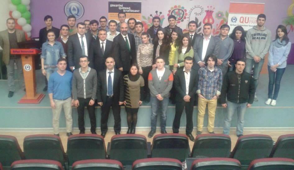 Girişimçilik, İnnovasiya və İş Modeli mövzusunda seminar keçirildi