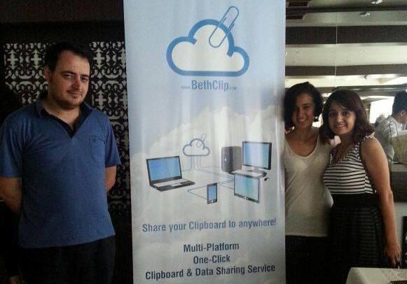 Yeni Fikir 2014 Müsabiqəsində birinci yeri tutmuş BethClip komandası Bakı Startup Sərgisində təmsil olundu