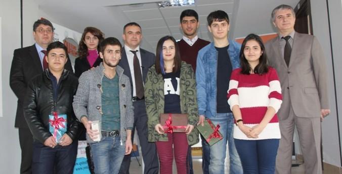 """""""İdeya səndən pul bizdən"""" tanıtım yarışması əsasında püşkatma keçirildi"""