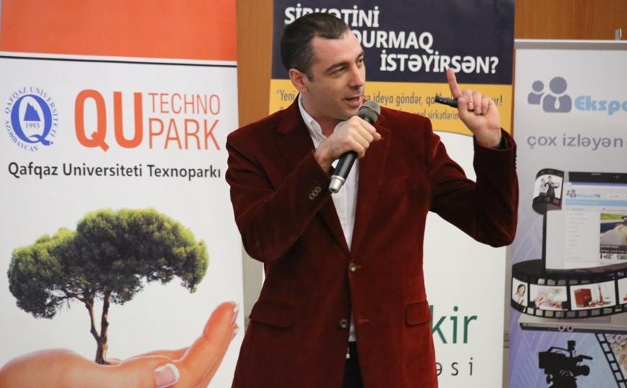 """""""QUTechnopark"""" innovativ sahibkarlığın inkişafına dəstəyini davam etdirir"""
