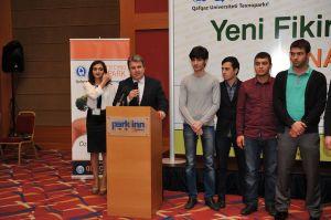 """""""Yeni Fikir 2015"""" müsabiqəsinin qalibləri elan olundu"""