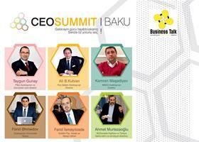"""""""CEO SUMMİT 2015"""" keçiriləcək"""