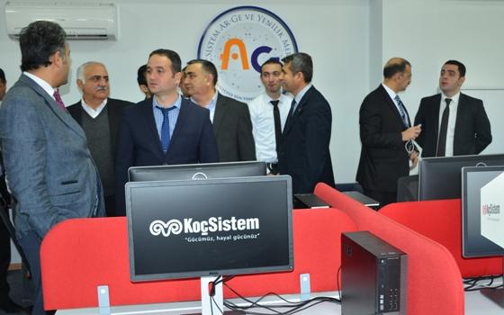 """""""Koç Sistem""""in Qafqaz Universitetində Tədqiqat Mərkəzi yaradıldı"""
