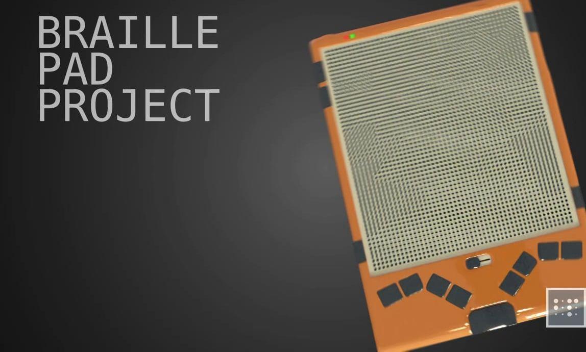 """""""Braille Pad"""" layihəsi ABŞ-ın qrant müsabiqəsində"""