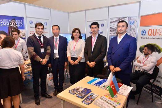Qutechnopark 10-cu Yubiley Beynəlxalq Təhsil Sərgisində iştirak etdi